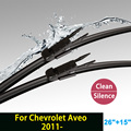 "Lâmina de limpador para Chevrolet Aveo (a partir de 2011) 26 ""+ 15"" fit pinch tab tipo limpador braços só HY-017"