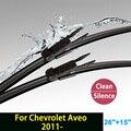 """Limpiaparabrisas para Chevrolet Aveo (desde 2011 en adelante) 26 """"+ 15"""" ajuste pizca tipo tab limpiaparabrisas armas sólo HY-017"""