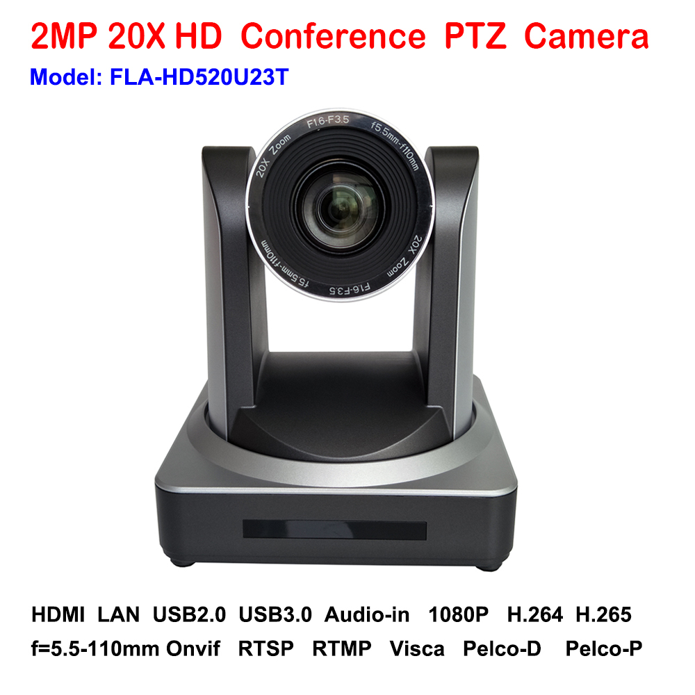 HD 2MP 1080p Indoor USB2.0 USB 3.0 PTZ Video Conferencing Camera with IP HDMI Video Stream 20x Optical Zoom 1080p 60fps 2mp hdmi full hd broadcast 12x zoom ptz video conference camera audio with ip usb2 0 usb3 0 interface