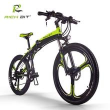 RichBit New RT-880 36V*250W Electric Bike Folding ebike Mountain Hybrid Electric Bicycle Frame Inside Li-on 9.6Ah Battery ebike