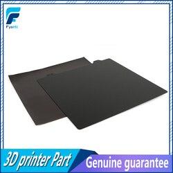 220/235/300mm dwustronna teksturowana blacha stalowa PEI + blacha magnetyczna B dla Anet A8 A6 Wanhao I3 Creality Ender 3/5 w Części i akcesoria do drukarek 3D od Komputer i biuro na