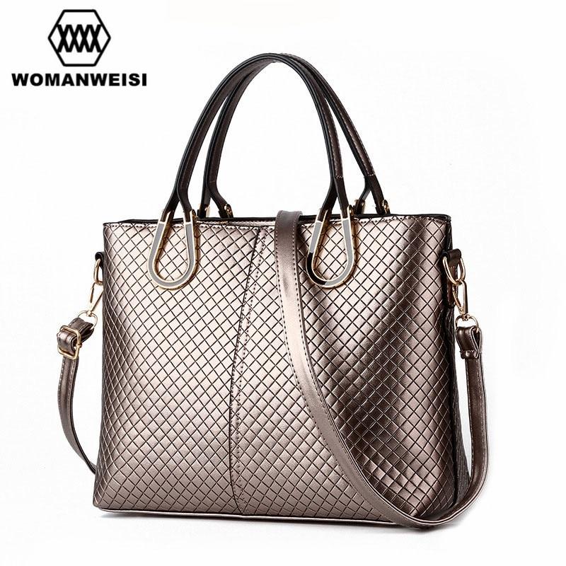 Womens Bags Free Shipping 2017 Cheap Sale Fashion Leather Women Messenger Bag Luxury Lady Handbag 6 Colors Female Bayan Canta