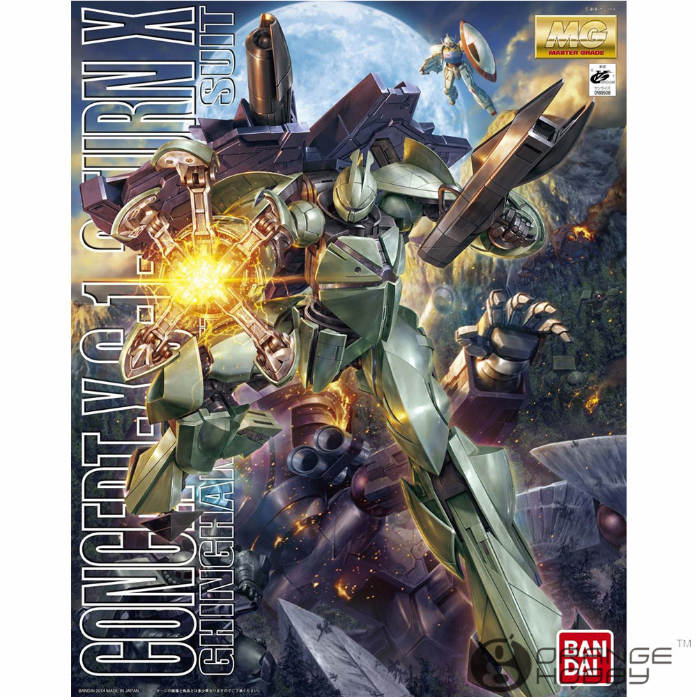 OHS Bandai MG 182 1/100 Concept-X 6-1-2 Turn X Mobile Suit Assembly Model Kits oh ohs bandai sw 1 6 yoda assembly model kits
