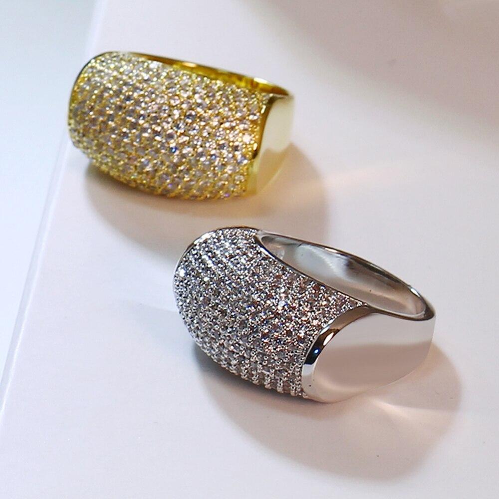 White Color Hot Sale Unique Design Famous  Rings Original Women