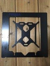 Prusa i3 Rework 3D printer aluminum composite frame kit RepRap Prusa i3 black color composite plate frame 3D Printer DIY 6 mm