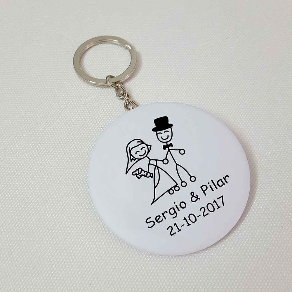 Personalized Wedding Favors and Gifts Custom Bottle Opener Keychain ...