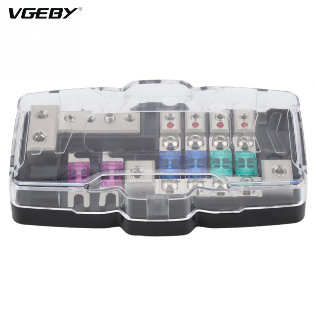 30A 60A Car Audio Stereo ANL Blade Fuse Holder Distribution Blocks