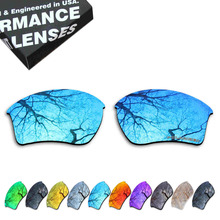 ToughAsNails Resist Seawater Corrosion Polarized Replacement Lenses for Oakley Half Jacket 2.0 XL Sunglasses - Multiple Options