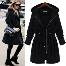 fashion New Long Parkas Female Womens Outwear autumn Winter warm Jacket Coat Thick Cotton zipper mujer