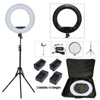 Yidoblo Black FS 480II Bio Color Beauty Salon Make Up Selfie 48W LED Ring Light LED