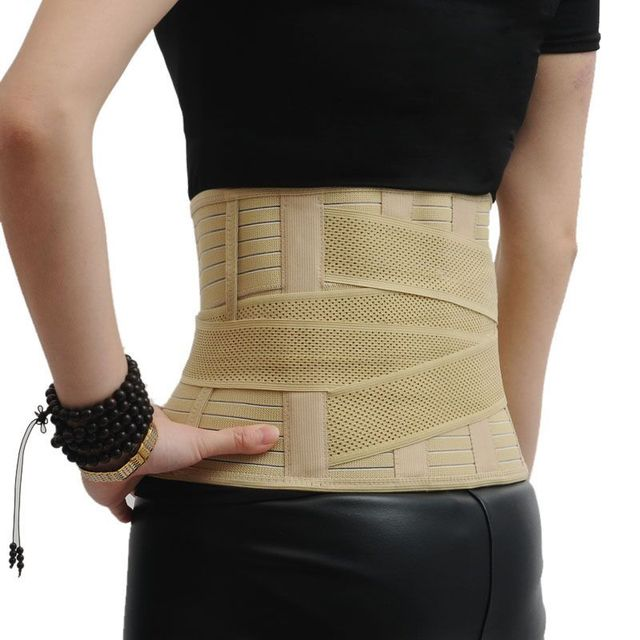 1Pc New Pull Breathable Waist Belt Orthopedic Medical Protection For Tighten The Abdomen Elastic