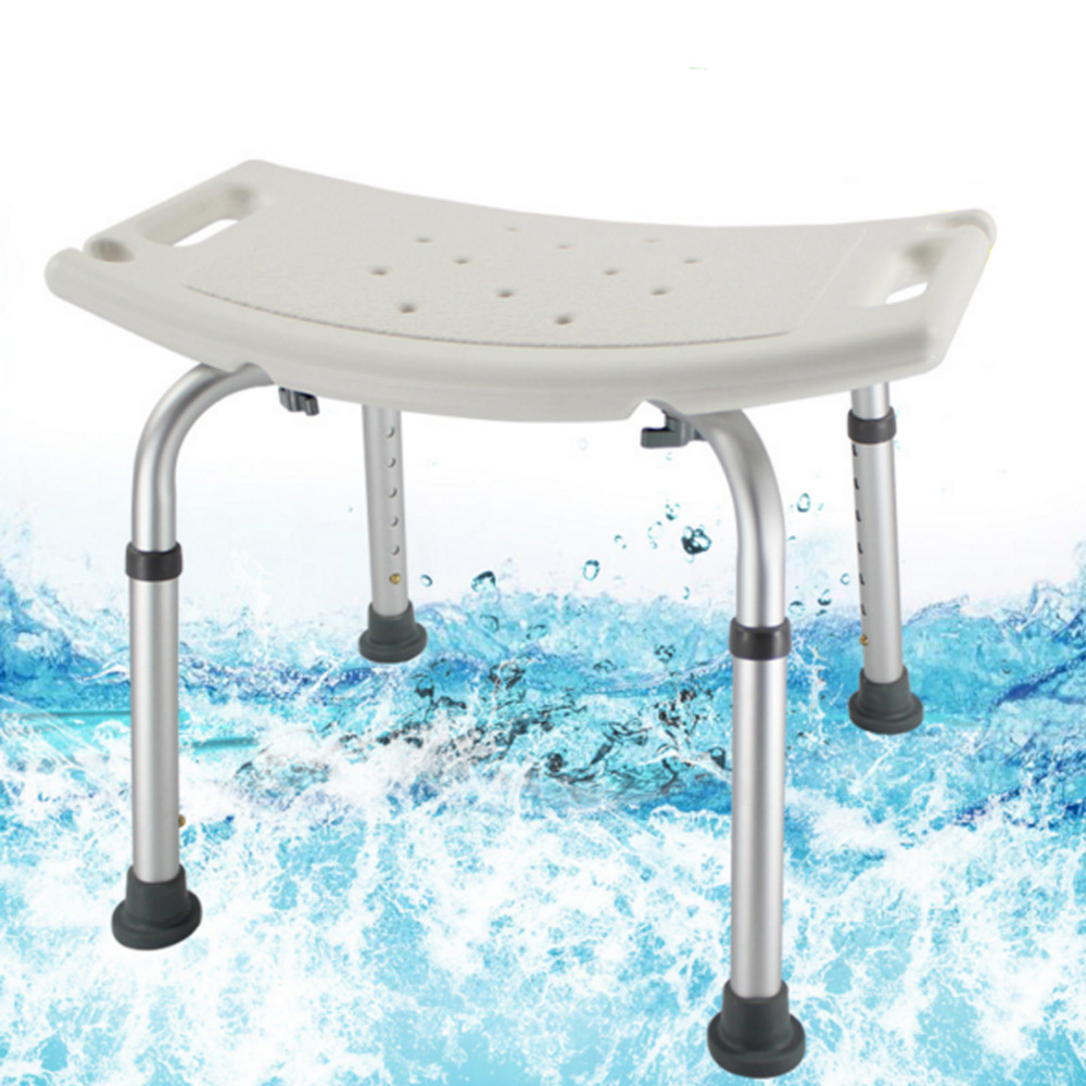 Tcare Adjustable Tub and Shower Seat - Medical Shower Chair Bath Stool Transfer Bench Seat, SPA Bathroom Bathtub Chair No-slip bathroom folding seat shower stool shower wall chair stool old people anti skid toilet stool bath wall chair