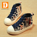 2017 nueva primavera de estilo bohemio niños shoes muchachos de las muchachas de lona de goma kids shoes zapatillas deportivas de moda colorfur fresco zapatillas