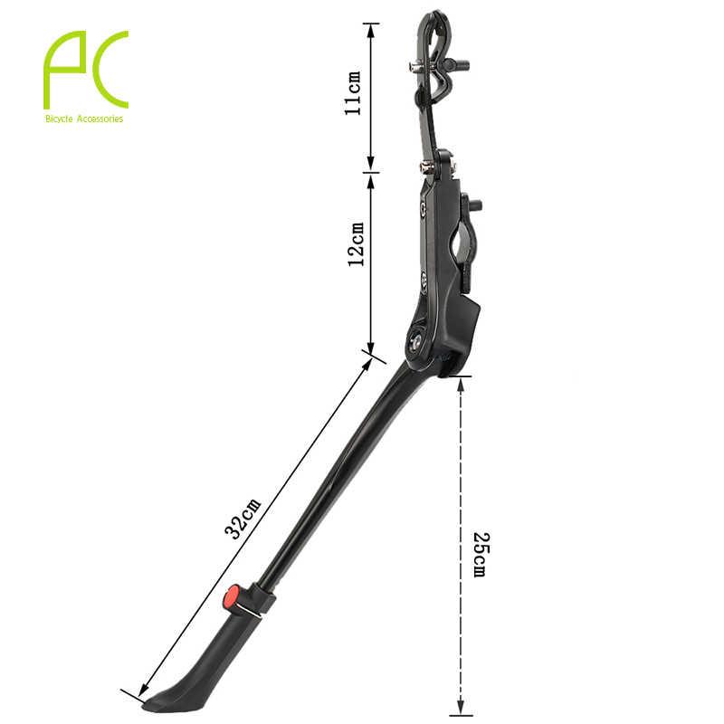 PCycling rower Kickstand 24 '-29 ''regulowany rower ze stopu aluminium rower MTB Road Bike Side Stick Stand części rowerowe
