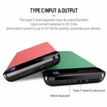 Portable Three-Colored Powerbank with Digital Display