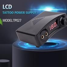 Touch Screen TPN028 Tattoo Power Supply UPGRADE Intelligent Digital LCD Dual Tattoo Power Supplies Set 1 Color high quality tattoo power supply touch screen intelligent digital lcd makeup dual tattoo power suppliy