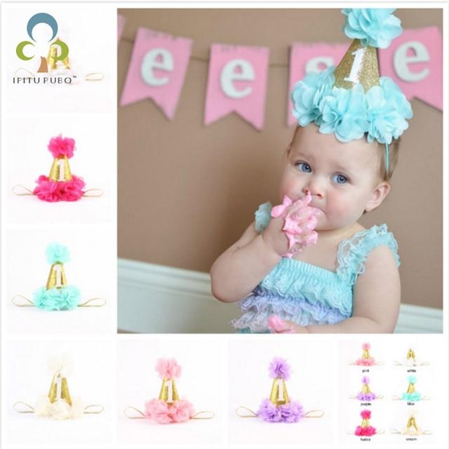Vaak 1 jaar baby eerste Verjaardag Hoeden caps Digitale Leeftijd een #ST41