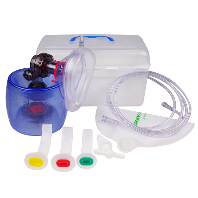 Child Adult Simple Self-help Respiratory PVC Silica Gel Respirator Cardiopulmonary Resuscitation SCBA Airbags CPR training aed