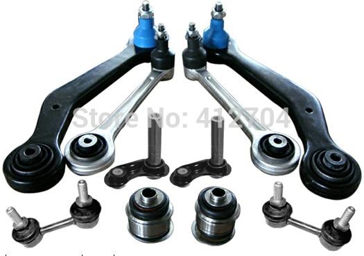 10 pièces/ensemble bras de suspension pièces de suspension bras de suspension arrière pour BM W 7 E38 pièces d'auto auto pièces de rechange 33321090745 33321090905