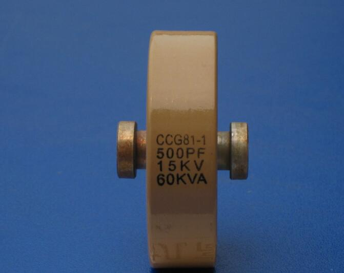 Round ceramics Porcelain high frequency machine new original high voltage CCG81-1 500PF 15KV 60KVA ccg81 1 350pf 15kv 60kva