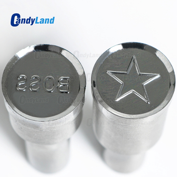 CandyLand BOSS Milk Tablet Die 3D Pill Press Mold Candy Punching Die Custom Logo Calcium Tablet Punch Die For TDP1.5 Machine
