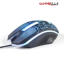 Professional Mini Portable Wired Mouse USB Optical 1600DPI Adjustable Game Gaming Mouse Mice For PC Laptop