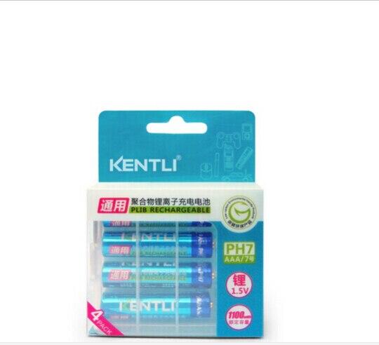 цена на 1.5v AAA lifepo4 li-ion li-pol batteries kentli high-performance camera 14505 battery 1180mWh rechargeable lithium battery