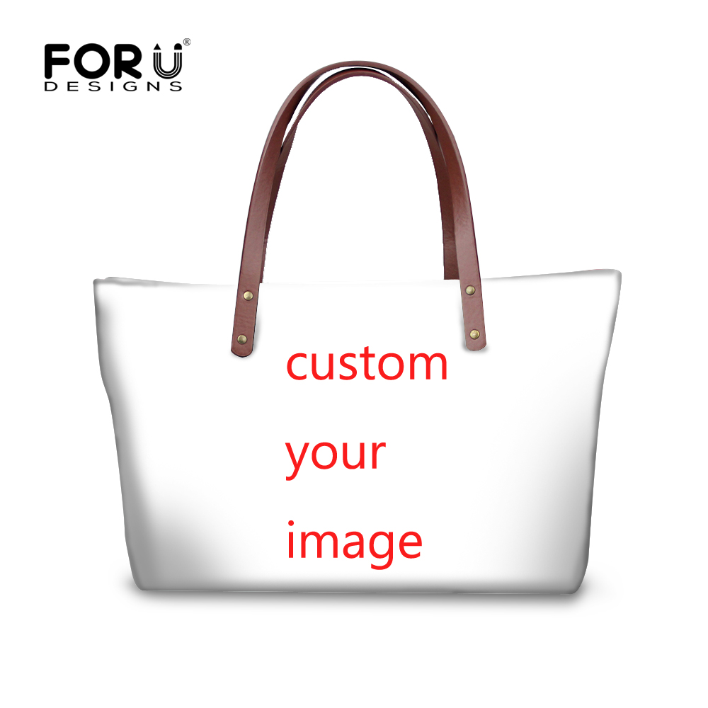 FORUDESIGNS Custom Women Handbags,Summer Large Beach Bag for Woman,,Ladies Big Shoulder Bag Casual Tote Hand Bags