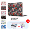 Vintage Flowers Fabric Frosted Laptop Sleeve Protective Cover For Notebook Apple Laptop Macbook Air 13 Case For Mac Case A1278