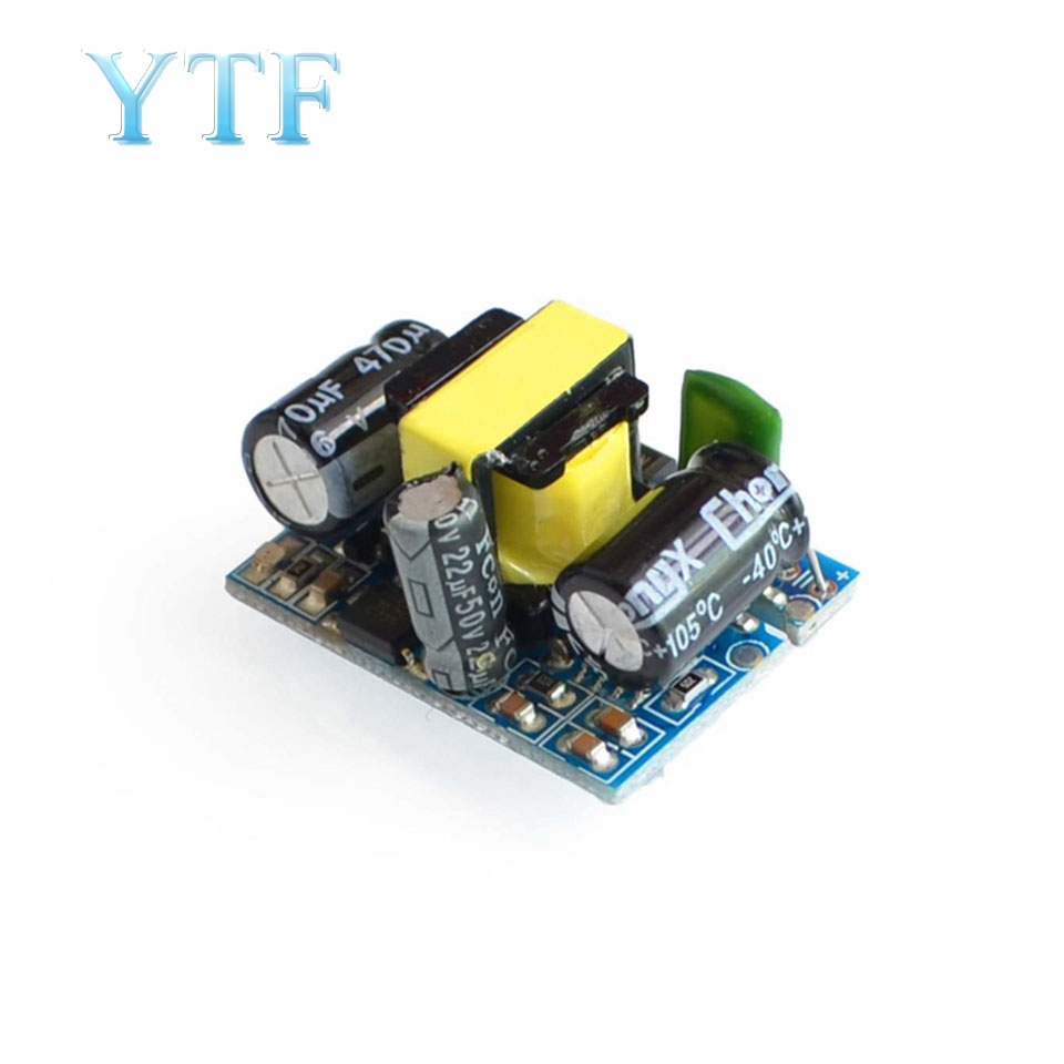 Precision 5v700mA Output 9v 500mA Isolation Switch Power Supply AC-DC Step-Down Regulator Module 220V Turn 12V