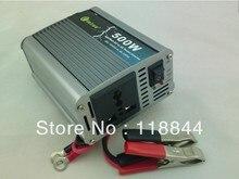 Inversor del coche 500 W inversor motor 12/24 220 v a 220 v fuente de alimentación del interruptor w envío libre