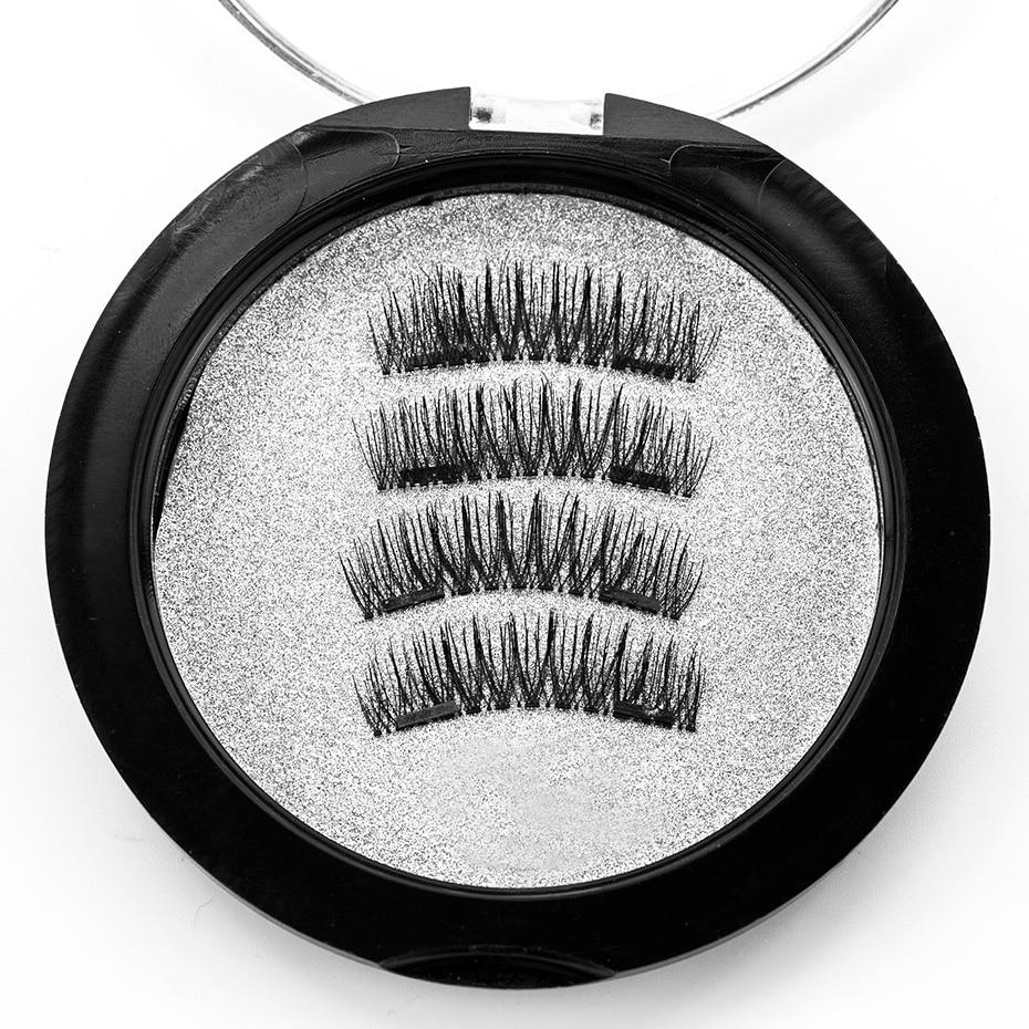 212d0f000c9 VICILEY magnetic eyelashes 6D magnet lashes with double tiny magnets  Natural False Eyelashes Handmade Eye Lashes Extension 24P-in False Eyelashes  from ...