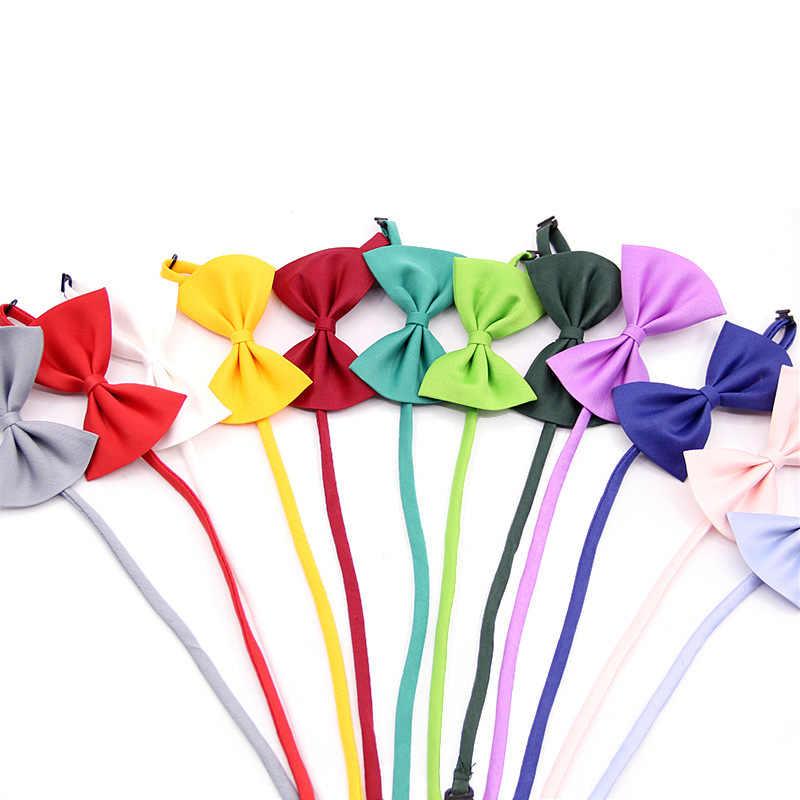 Crianças Moda De Algodão Formal Gravata borboleta Criança Clássica Bowties Borboleta Colorida Festa de Casamento Pet Bowtie Smoking Laços
