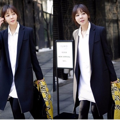 2016-Autumn-new-Women-long-coat-black-Small-suit-loose-blazer-slim-jacket-women-s-Blazers (1)