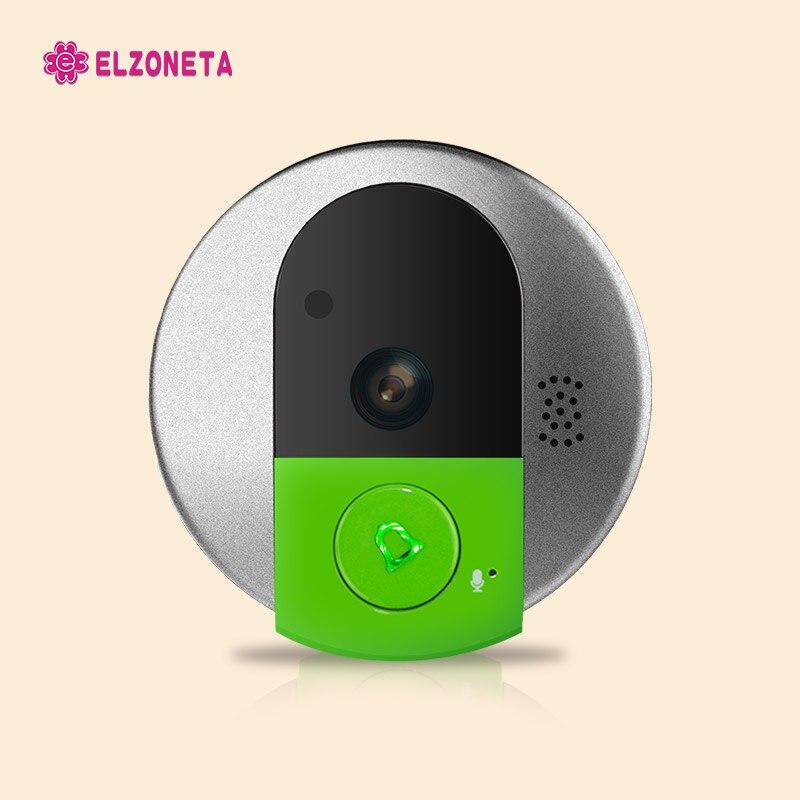 imágenes para 720 P HD Audio Bidireccional 5 m Amplio Ángulo de Visión Nocturna Por INFRARROJOS IP de Vídeo Doorcam, Wireless Wifi de Seguridad IP Cámara de La Puerta