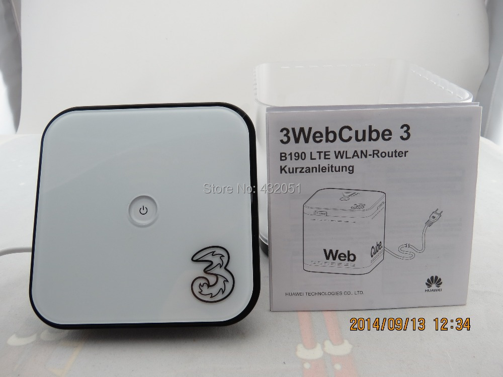Webcube 3G UMTS Router HUAWEI B190