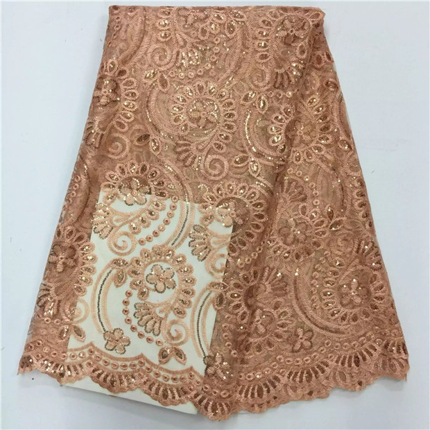 Time limited 2017 sale high quality flower african lace for French lace fabric for wedding dresses