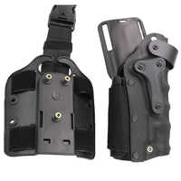 Hunting Army Airsoft Tactical Holster Right & Left-Handed Thigh Leg Combat Gun Holster Fit For GL 17 M92 M96 USP P226
