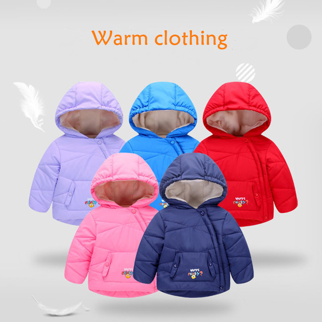 Aliexpress Com Buy Kids Girls Winter Jacket Long Sleeve Hoodie