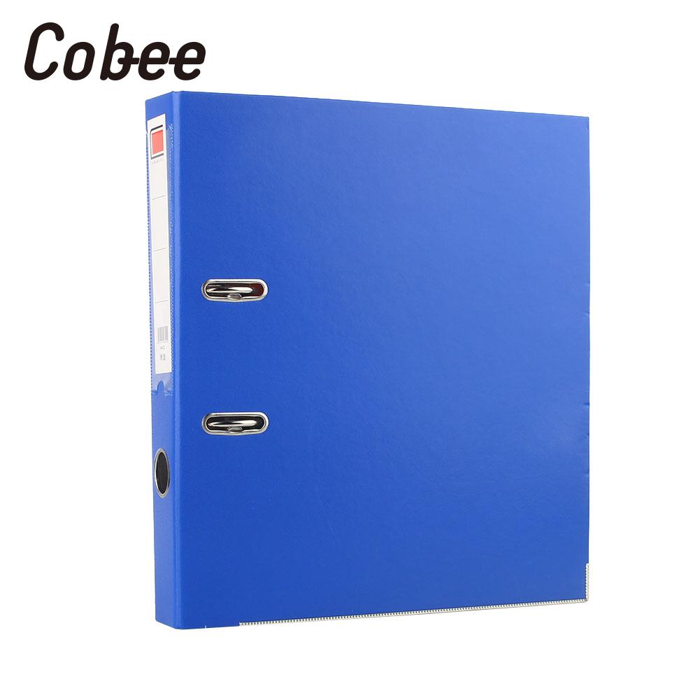 A4 Files Folders Waterproof Document Holder Binder A4 File Storage Office Paper Holder Lever Arch Blue aos flat file storage folders stores flat items up to 12 x18 pack of 10