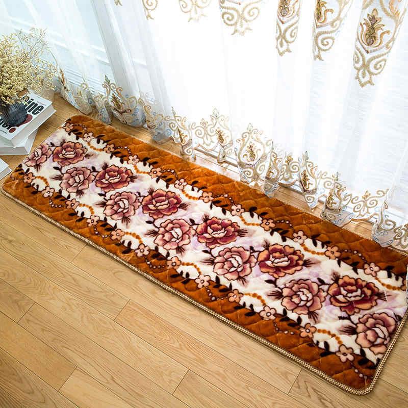 Домашний ковер в холл коврик для гостиной с мягким полом коврик под дверь Спальня ковер стороны кровати коврики с защитой от скольжения, коврик половик, стопы ковры