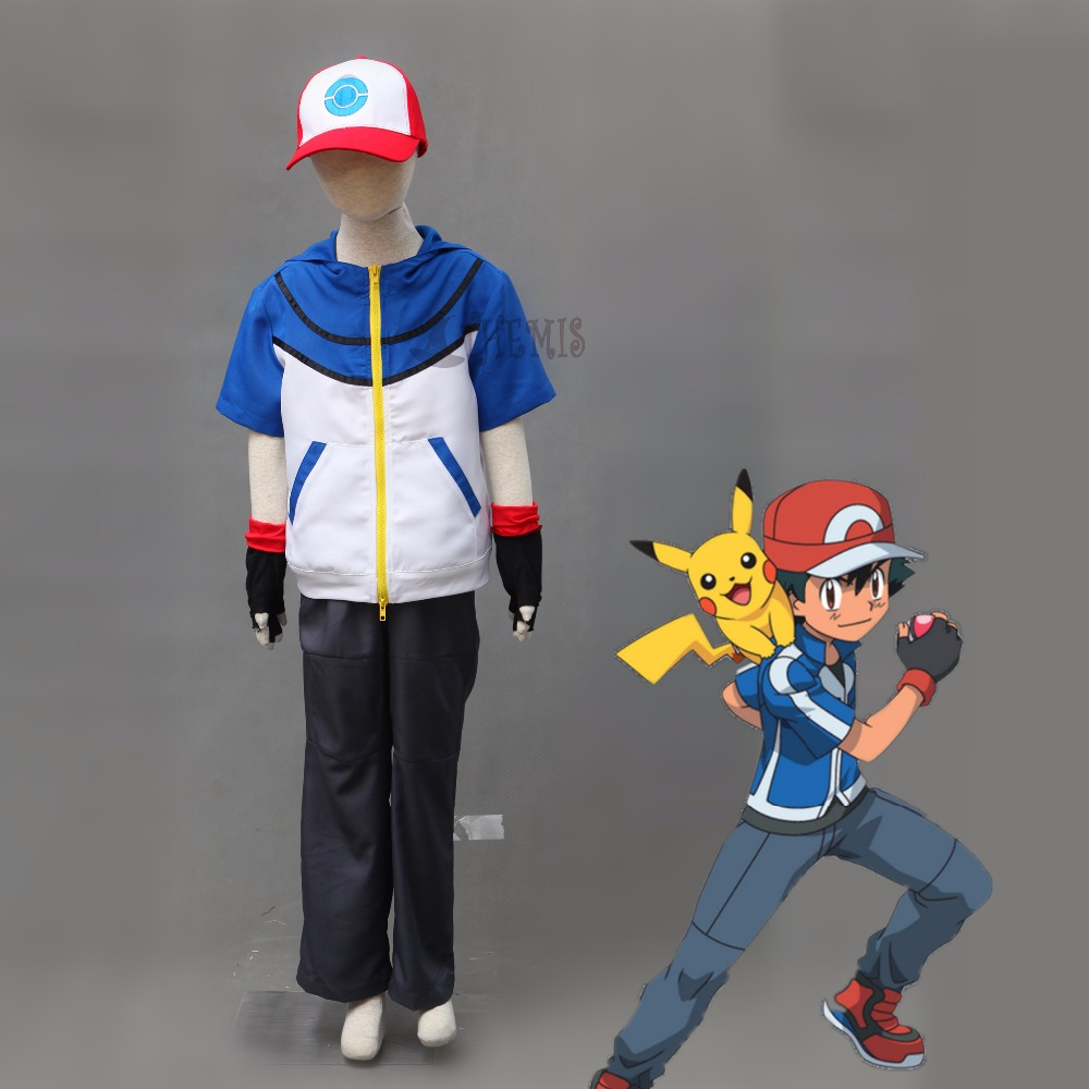 aliexpress com buy athemis ash ketchum cosplay pokemon pocket