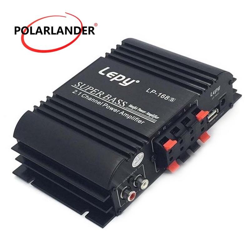 Lepy 12V Auto Auto Audio Power Verstärker Subwoofer Hallo-fi Stereo Sound 2,1 Kanal Bass Ausgang Mit AUX Funktion Laut lautsprecher