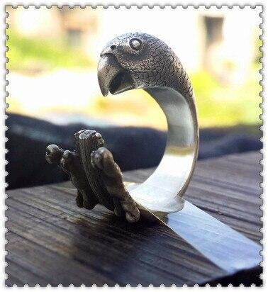 Оптовая продажа кольцо в стиле ретро из цинкового сплава панк