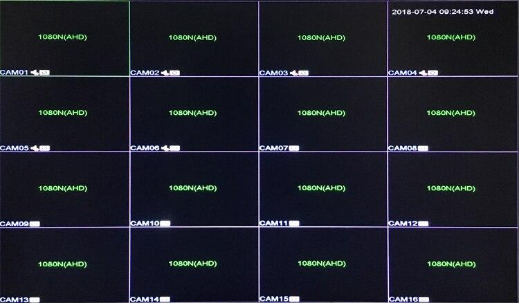 1080P / 960P / 720P / 960H Kamer sigurie me rreze blu Hi3521A 1080N - Siguria dhe mbrojtja - Foto 4