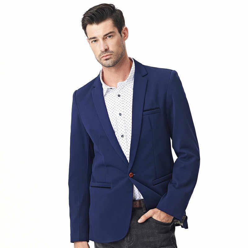 FGKKS новые осенние мужские блейзеры мужские модные тонкие куртки льняные и хлопковые пальто мужские блейзеры брендовая одежда