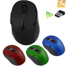 mosunx Optical Scroll gaming mouse 2.4GHZ mouse gamer for laptop wireless mouse