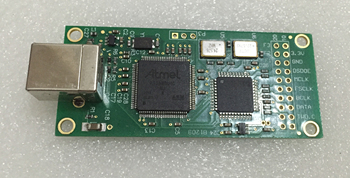ATSAM3U1C XC2C64A Amanero USB IIS הדיגיטלי ממשק DAC מפענח לוח תמיכה DSD512