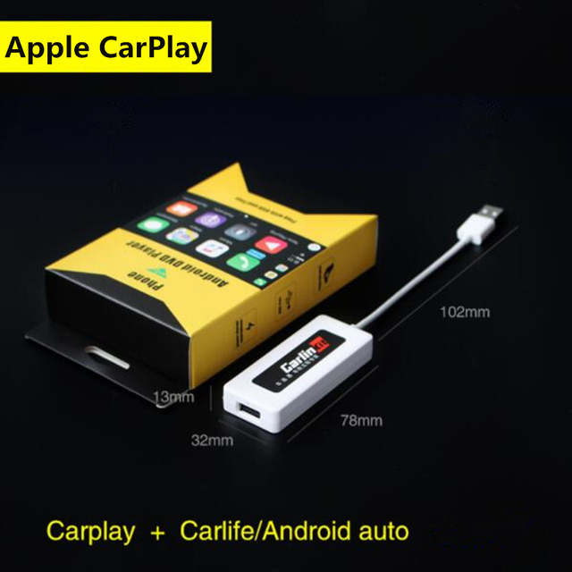 US $50 39 28% OFF|12V USB Bluetooth Dongle Car Navigation Player Apple  Carplay Dongle for Apple iOS CarPlay Android Auto Car Player Car Styling-in