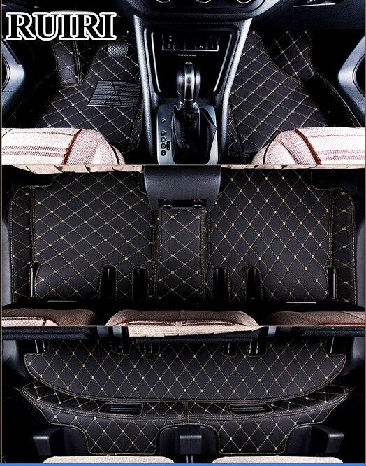 Ковры хорошо! Специальные коврики для Toyota Land Cruiser Prado 150 2018 2010 7 мест прочный ковры, Бесплатная доставка